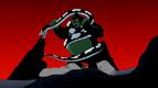 Nega Beast Boy as Python