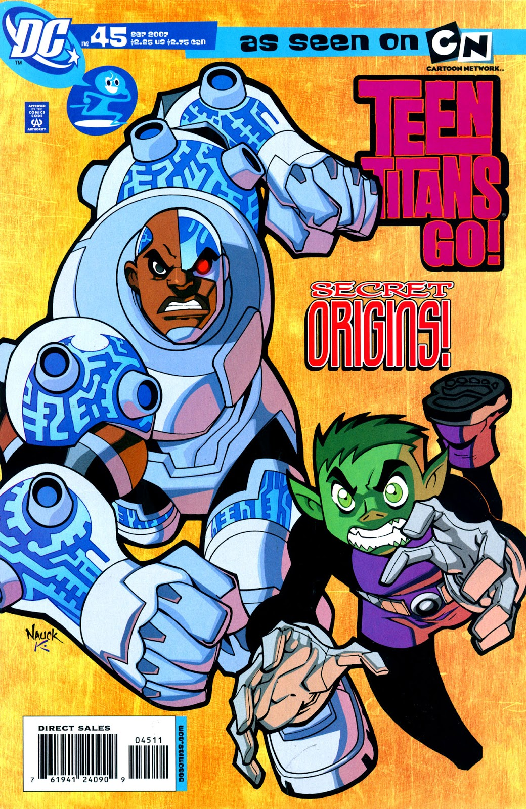 Biography of a Beast Boy/Cyborg's Story