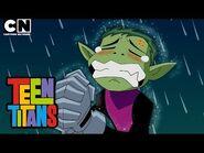 Teen Titans - Beast Boy Asks Terra Out - Cartoon Network