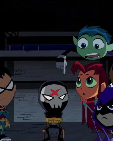 Red X Unmasked Teen Titans Wiki Fandom