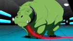 Beast Boy as Hippopotamus