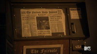 Teen Wolf Season 3 Episod 6 Motel California Fairview Newspaper 1977