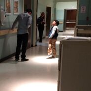 Teen Wolf Season 5 Behind the Scenes Tyler Posey Steele Gagnon Teen Wolf HQ undated