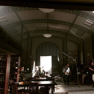 Teen Wolf Season 5 Behind the Scenes Library Set Interior Teen Wolf HQ undated