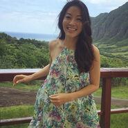 Teen Wolf News Arden Cho in Hawaii