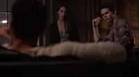 Teen Wolf Season 3 Episode 8 Visionary Dylan O'brien Adelaide Kane Cora with Skeptical Stiles