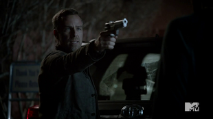 Teen Wolf Season 3 Episode 3 Fireflies JR Bourne Chris Argent