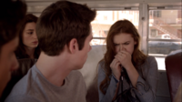 Teen Wolf Season 3 Episode 6 Motel California Holland Roden Dylan O'Brien Tyler Posey Crystal Reed Lydia blows whistle
