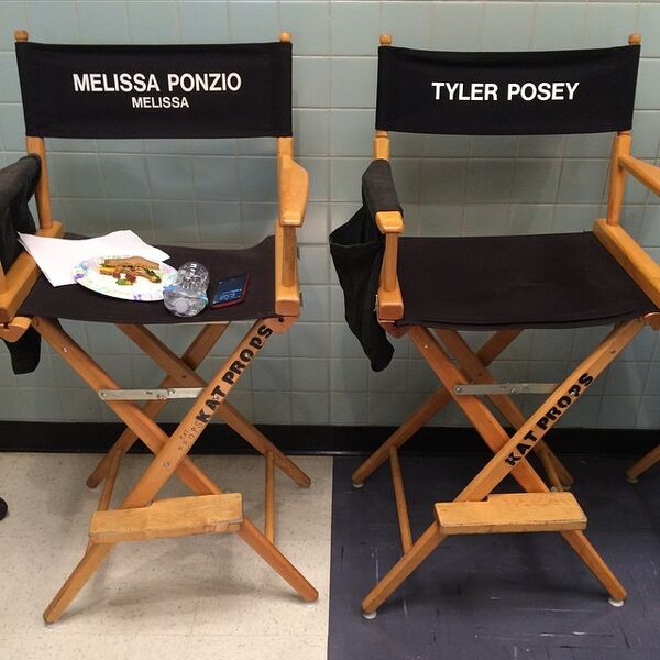 Teen Wolf Season 5 Behind the Scenes Posey and Ponzio's chairs 020915.jpg