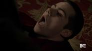 Stiles as punching bag