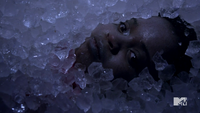 Teen Wolf Season 2 Episode 6 Motel California Alicia in the Ice Machine