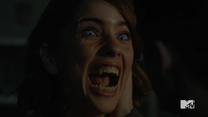 Teen Wolf Season 5 Episode 14 The Sword and the Spirit Malia injected with wolfsbane