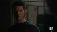Teen Wolf Season 5 Episode 7 Strange Frequencies Theo wolf face