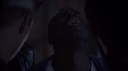 Teen Wolf Season 3 Episode 7 Currents Sinqua Walls Boyd impaled on Derek's claws