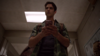 Teen Wolf Season 3 Episode 7 Currents Tyler Posey Scott hears a tap tap tapping