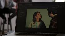 Shelley-Hennig-Dylan-O'Brien-Malia-Stiles-school-photo-Teen-Wolf-Season-6-Episode-1-Memory-Lost