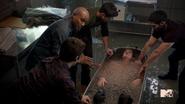 Teen Wolf Season 3 Episode 2 Daniel Sharman Tyler Posey Dylan O'Brien Tyler Hoechlin Seth Gilliam Animal Clinic Ice Bath