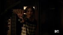 Teen Wolf Season 3 Episode 19 Letharia Vulpina Throwing Talia's Nails