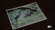 Teen Wolf Season 5 Episode 17 A Credible Threat Bloody footprint