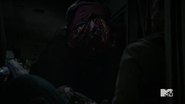 Teen Wolf Season 5 Episode 17 A Credible Threat Bus full of dead people