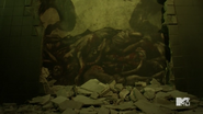 Teen Wolf Season 5 Episode 14 The Sword and the Spirit Portrait of dead people