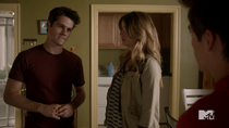 Teen Wolf Season 4 Episode 12 Smoke & Mirrors Stiles Malia Liam carbonite