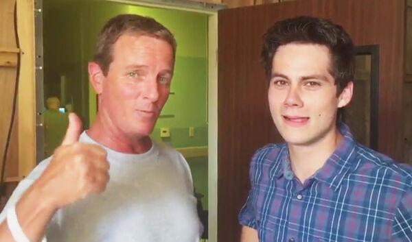 Teen Wolf Season 5 Behind the Scenes Linden Ashby Dylan O'Brien video Teen Wolf HQ 082415.jpg