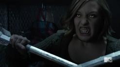 Teen Wolf Season 5 Episode 17 A Credible Threat Werewolf eyes