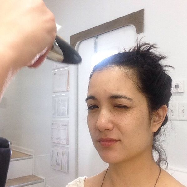 Teen Wolf Season 5 Behind the Scenes Benita Robledo makeup.jpg
