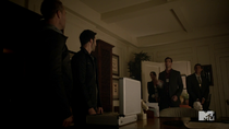 Teen Wolf Season 3 Episode 19 Letharia Vulpina Agent McCall Arrests Argent and Derek