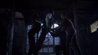 Teen Wolf Season 3 Episode 7 Currents Kali drops Boyd on Derek's claws