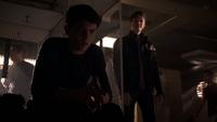 Teen Wolf Season 3 Episode 8 Visionary Ian Nelson Michael Fjordbak Young Peter Young Derek locker room