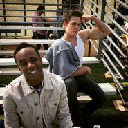 Teen Wolf Season 5 Behind the Scenes Khylin Rhambo Dylan Sprayberry Woodley Park 030315