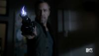 Teen Wolf Season 3 Episode 3 Fireflies JR Bourne Chris Argent Shock Stick