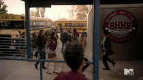 Teen Wolf Season 3 Episode 19 Letharia Vulpina Mayhem at Beacon Hills High School