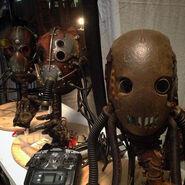 Teen Wolf Season 5 Behind the Scenes Dread Doctors Helmets undated image