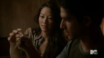 Teen Wolf Season 3 Episode 15 Galvanize Kira Scott Sushi