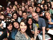 Teen Wolf Season 5 Behind the Scenes Arden Cho Selfie Stick PaleyFest Audience 031115