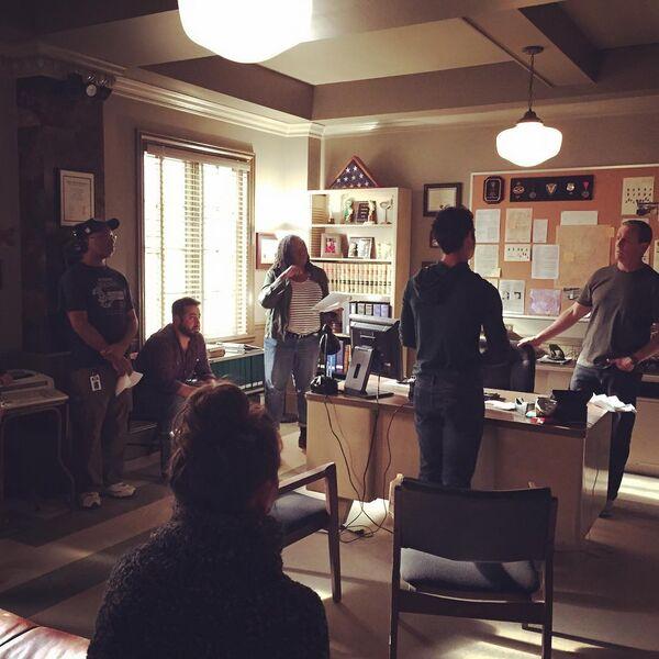Teen Wolf Season 6 Behind the Scenes Angela Harvey, Tyler Posey, Linden Ashby.jpg