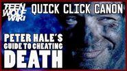 Teen Wolf Mystery How Peter Hale Cheated Death