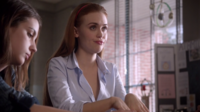Teen Wolf Season 3 Episode 7 Currents Adelaide Kane Holland Roden Cora and Lydia reaction to Ouija board