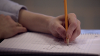 Teen Wolf Season 3 Episode 7 Currents Lydia draws a tree