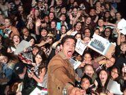 Teen Wolf Season 5 Behind the Scenes Tyler Posey Selfie Stick PaleyFest Audience 031115