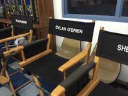 Teen Wolf Season 5 Behind the Scenes actor chairs pali high 021215