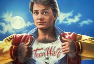 MJF teen wolf promotional poster image
