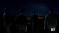 Teen Wolf Season 3 Episode 3 Fireflies veiw of Beacon Hills