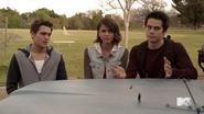 Teen Wolf Season 5 Episode 3 Dreamcatcher Liam Malia and Stiles inner circle