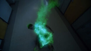 Ryan-Kelley-Parrish-Hellhound-green-flames-Teen-Wolf-Season-6-Episode-4-Relics