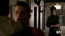 Teen Wolf Season 3 Episode 22 De Void Isaac shoots the twins