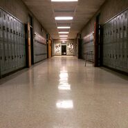 Teen Wolf Season 5 Behind the Scenes BHHS hallway TW HQ 031715